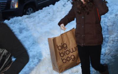 Busy Bloomingdales' Shoppers