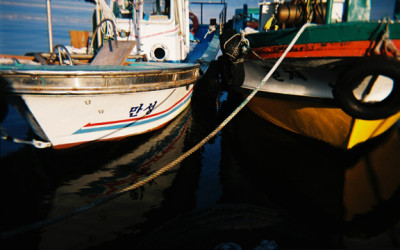 Sokcho Fishing Boats