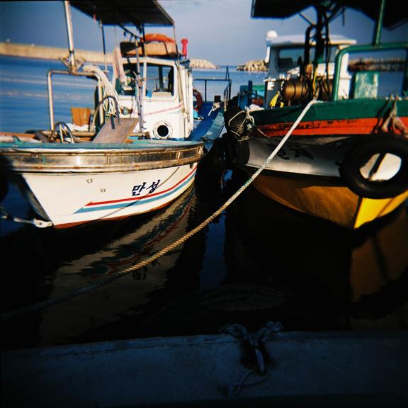 Sokcho Fishing Boats