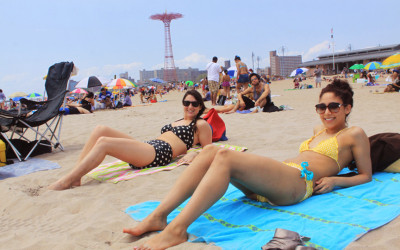 Memorial Day weekend, Brighton Beach