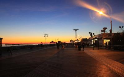 Coney Sunset
