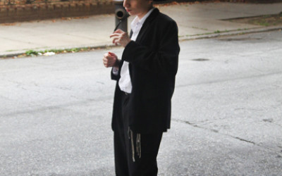 Jewish Boy Hitchhiking